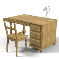 dolfi country style desk table kid children