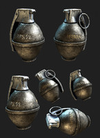 max m26 a1 frag grenade