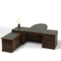 mart fran president office desk work table conference