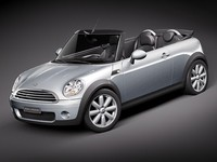 3ds max mini morris cooper convertible