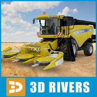 Combine-harvester New land by 3DRivers