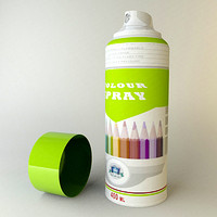 spray cans wall dxf