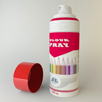 3ds max spray cans wall