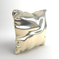 Satin Throw Pillow