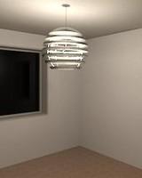 3d model light fixture