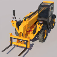 3d model of telehandler 540