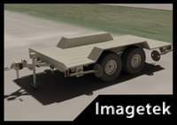 US MILITARY 5 Ton Trailer