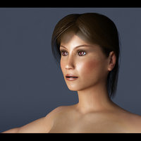 Woman Anatomy VRay