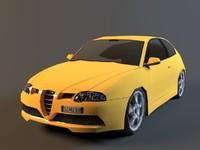 3d alfa romeo 148 gtr model