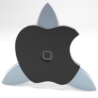 3d apple istar shuriken