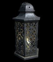 3d old lantern model
