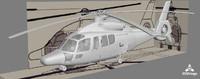 3d eurocopter ec155