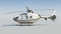 nice eurocopter ec 135 3d model