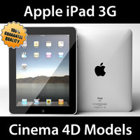 apple ipad 3g 3d model
