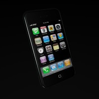 iphone phone 3d model