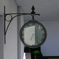Trainstation Clock