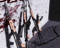 ak-47 assault rifle ak 3d ma
