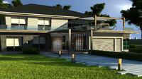 3d home villa