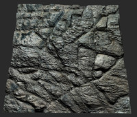 max tileable rock face