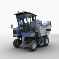 Grape Garvester New Holland VL 6050 by 3DRivers