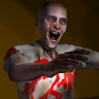 Zombie #1 Rigged Character Package