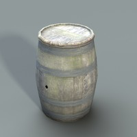 barrel lowpoly