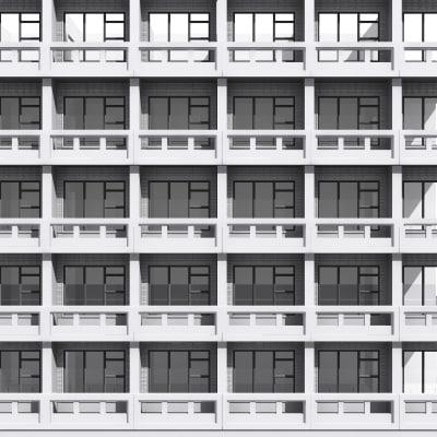 3d tileable building facade Building facade pictures