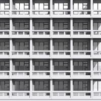 3d tileable building facade
