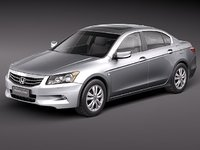 honda accord 2011 usa 3d max