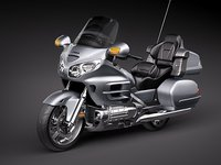 honda goldwing gold wing 3ds