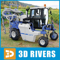 Vineyard watering machine Bobard 809 TI by 3DRivers