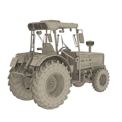 3d agricultural tractor model - Tractor Same Golden 75 by 3DRivers... by 3DRivers