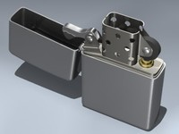 3d model zippo lighter
