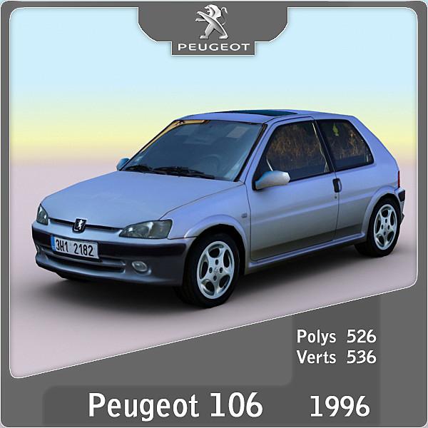 1996 Peugeot 106