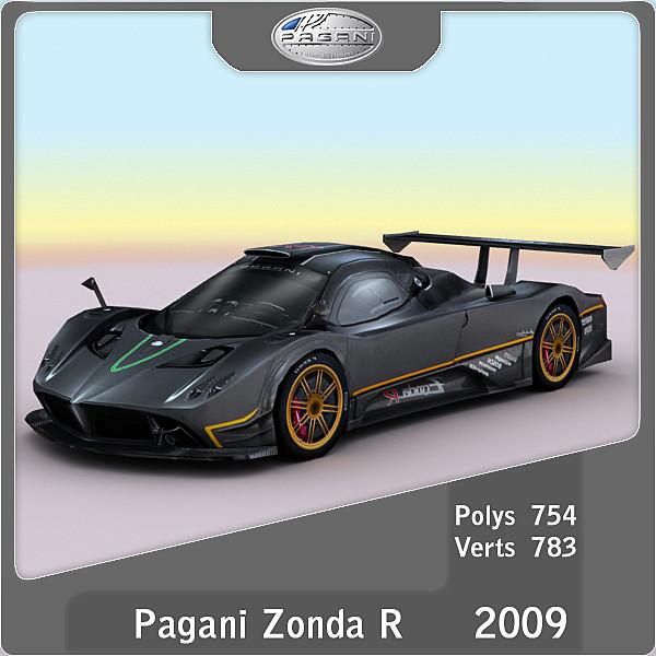 2009 Pagani Zonda R