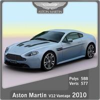 3dsmax 2010 aston martin v12
