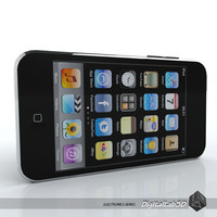 ipod touch 3rd 3d model