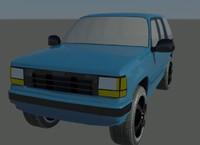 3d model explore 20 rims