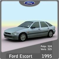 3d model 1995 escort