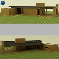 3ds modern house