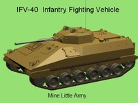 ifv-40 infantry fighting vehicle lwo