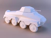 sdkfz 231 3d max