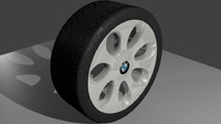 bmw wheel 3ds