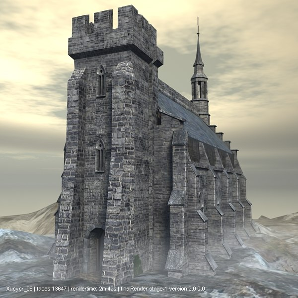 gothic castle 3 by - photo #2