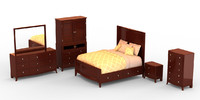 bedroom set - mercer max