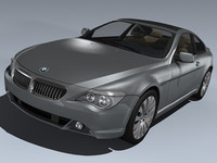 3d bmw 6er coupe 2004