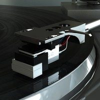 record player 3d model