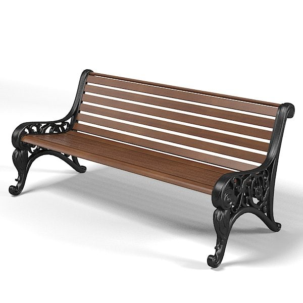 garden park bench classic forged  form banquette sette baroque.jpg