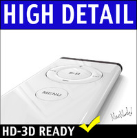 imac remote mac 3d model