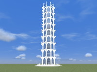 fantasy tower 3d x